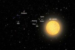 宇宙最古老的恒星:hd 140283(大爆炸第一批恒星)