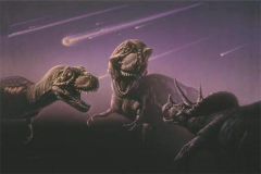 恐龙是什么时候灭绝的?白垩纪时被陨石毁灭(6500万年前)