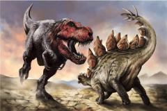 美国唯一的克隆恐龙 恐龙DNA能够保存100万年