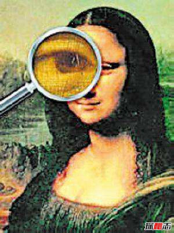 蒙娜丽莎的微笑放大400倍,揭秘蒙娜丽莎放大后隐藏的秘密