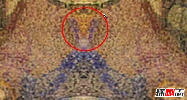 蒙娜丽莎重叠外星人,达芬奇多幅画中看出外星人