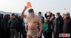 世界上最不怕冷的人 中国冰王金松浩冰中呆满两小时