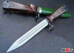 世界上最厉害的刀 中国81式刺刀设计巧妙威力恐怖