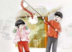 春节为什么要放鞭炮?为了赶走年兽寓意来年红火丰收