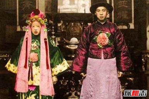 中国最恐怖的一张照片,山西冥婚图片真相(疯传网络)