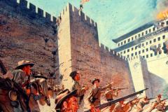 八国联军侵华战争是哪一年?1900年5月(义和团运动爆发)