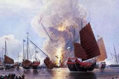 第一次鸦片战争是哪一年?爆发于1840年虎门销烟