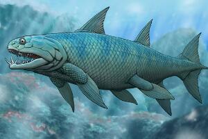 地球早期的两栖动物,三列鳍鱼(生存能力强/度过生物大灭绝)