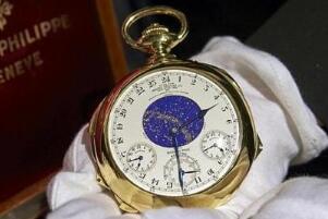 百达翡丽中哪款手表最贵,Henry Graves超复杂功能怀表(1.5亿)
