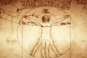 维特鲁威人三大秘密,天文、星座、人体(一张人体图震惊世界)