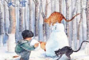 大雪节气的含义是什么,天将要下大雪(每年的12月6-8日)