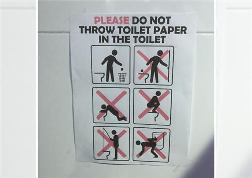 里约奥运村除了环境不好 更奇葩的是那里的警告标示
