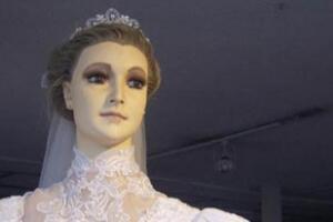 帕斯卡拉干尸新娘真相,用真实尸体做成的鬼娃新娘