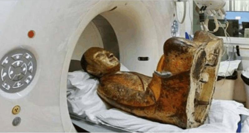 去世的人为佛像 曾发现有生命迹象