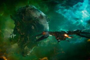 宇宙中比地球还大的生物,在真空中遨游以吞噬星体为生