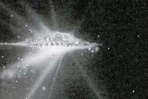 nasa拍到宇宙天国世界,人死后的真实世界或上帝的天堂