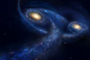 哈勃望远镜发现仙女座危机,仙女座星系即将吞并银河系