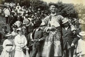 世界第一巨人詹世钗,真实身高2.4米(3.19米是杜撰)