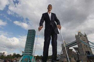 盘点十大世界上最高的人,清代巨人詹世钗高3.19米是假的