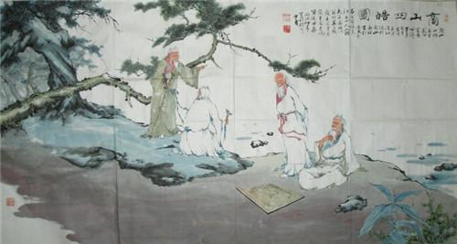 秦末汉初的五大隐士是谁?关于五大隐士的资料