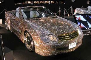 沙特王子13.4亿的车震惊世界,镶满钻石摸一次1000美元