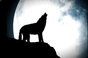 天狗食月的科学解释,太阳到地球光线被月亮掩盖(月食)
