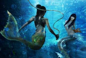美人鱼是不是真的存在,海底真正美人鱼的照片曝光