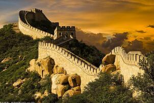 北京八达岭长城名字的由来,盘点各种角度八达岭长城图片