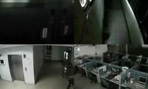 台北市办公室里的灵异事件