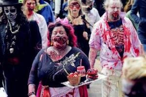 世界上最恐怖的节日,墨尔本僵尸节(现实版行尸走肉)