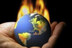 温室效应让地球温室将变得多热,2200年高出7C°(全球持续变暖)
