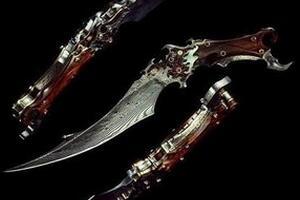 世界八大诡异刀之谜,活人骨头铸造而成(拥有者惨遭灭门)