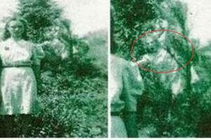 1942年最真实的灵异照片揭秘,鬼魂就在身后(照片毫无PS)