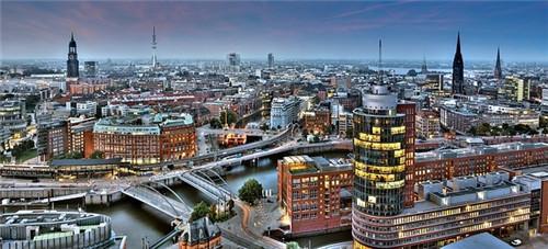 世界上桥梁最多的城市 并非是威尼斯而是德国汉堡市