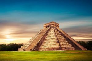 埃及金字塔与玛雅金字塔,神秘的玛雅金字塔