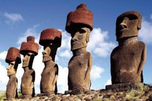 复活节岛石像之谜:高20米重90吨如何运输(或是外星人到访证据)