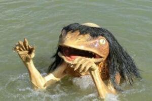 河童是什么生物,水神的使者/吃人的水虎怪(图片)
