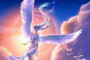 宇航员拍到白衣天使震惊众人,天使与天国竟真实存在