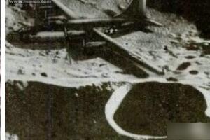 揭秘月球上的轰炸机,百慕大消失的二战飞机(被劫持到月球)